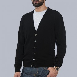 100% Puro Cashmere Cardigan Uomo